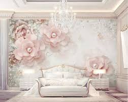 3d Flower Wall Decals Etsy