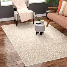 brady animal print almond area rug