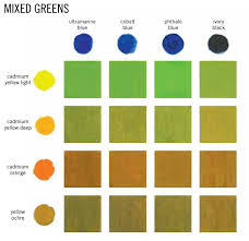 50 shades of green artists network