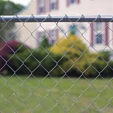 50 12 5 Gauge Compact Galvanized Chain Link Fence Fabric At Menards