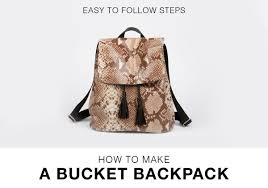 bucket backpack ebook bag