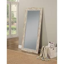 farmhouse full length leaner mirror