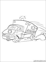 Ambulance Kleurplaten Gratis Kleurplaten