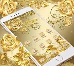 gold rose theme royal gold apk gold