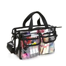 clear transpa pvc makeup bag travel