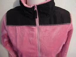 Brand New Girls Youth Fleece Jacket Size S By Amie Smith-Very Soft- pink  and bla   eBay