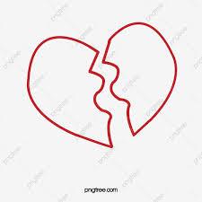 قلب مجروح على شكل قلب مكسور مواد Png وملف Psd للتحميل مجانا