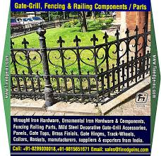 Decorative Wrought Iron And Ornamental Iron Components Fencing Hardware Railing Parts Gate Grill Parts Wrought Iron Hardware Accessories Manufacturers Exporters In India Uk Usa Germany Italy Canada Uae Http Www Finedgeinc Com Timeline