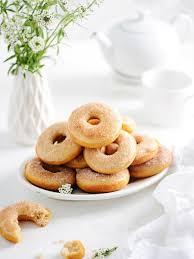 homemade baked cinnamon donuts recipe