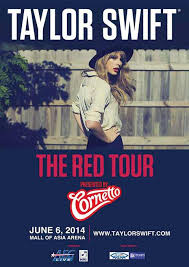 taylor swift the red tour concert at