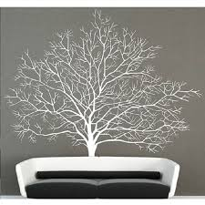 White Birch Tree Wall Decal Branch Forest Decals Large Tree Wall Sticker Mural Tree Wall Murals Wall Decor Decals Birch Tree Wall Decal