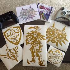 Created Some New Majora S Mask Vinyl Decals What Do You Think Zelda