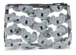 koala bear graphic makeup bag on carousell