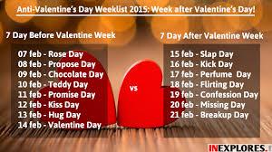 anti valentine s week slap day kick day perfume day