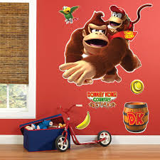 Donkey Kong Giant Wall Decals Walmart Com Walmart Com