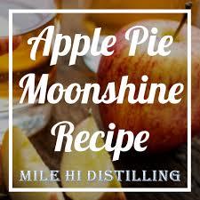 apple pie moonshine recipe how to