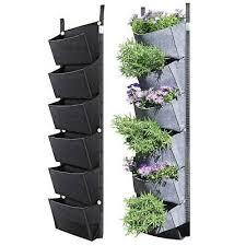 6 pocket vertical greening hanging wall