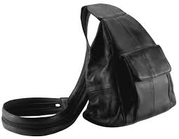 lupurse17 solid genuine leather hobo