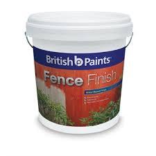 British Paints 10l Ebony Fence Finish Paint Bunnings Warehouse