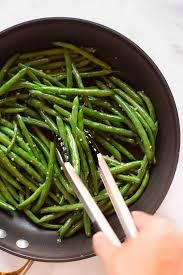 garlic parmesan green beans a sweet