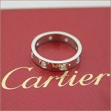 auth cartier love wedding band 8diamond