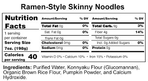 shirataki ramen style noodles value
