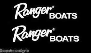 Ranger Boats 2x 8 X 2 5 Decal Vinyl Sticker Stickers Graphics Ebay