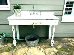 outdoor bar sink recipeworld co