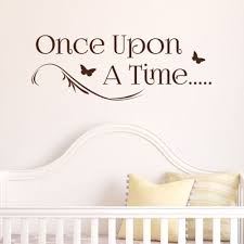 Once Upon A Time Large Wall Sticker Story Decal Wallart Ss1554 Kids Room Wall Stickers Kids Room Wall Decor Large Wall Stickers