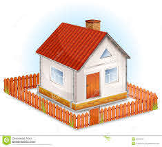 Small House Fence Stock Illustrations 930 Small House Fence Stock Illustrations Vectors Clipart Dreamstime