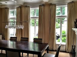 Curtains Contemporary Dining Room New York By Curtain Works Of Greenwich