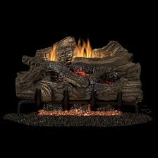 smokey mountain gas log set with vent