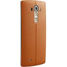 lg leather back cover for lg g4 orange
