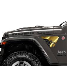 Jeep Wrangler Jl Jlu Front Fender Decal Jeep Wrangler Jl Decal