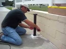Ask Southern Installing Post Mount On Slope Surface Youtube