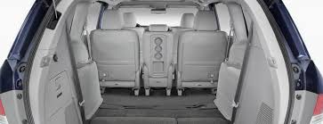 second row seats in the 2016 honda odyssey