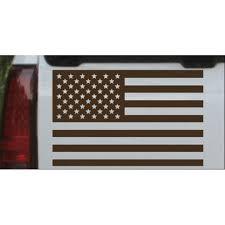 American Flag Car Or Truck Window Decal Sticker Walmart Com Walmart Com