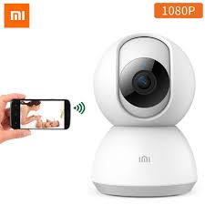 Cập nhật Xiaomi xiaobai MiJia Smart Camera IP Camera Quay Phim 360 Góc  Video Camera Toàn Cảnh WIFI Không Dây 1080P Nhìn Đêm|Camera giám sát