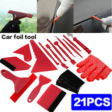 7 13 21 Pcs Car Film Tool Auto Vinyl Stickers Scraper Kit Car Squeegee Car Stickers Installation Kit Car Wrap Film Tools Wish