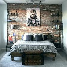 brick wallpaper for bedroom liamhome co