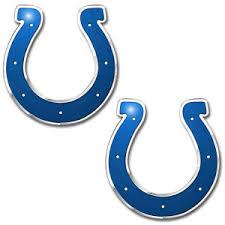 Nfl 2pc Indianapolis Colts Auto Car Truck 3d Aluminum Color Emblem Decal Sticker 681620634136 Ebay