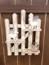 Picket Fence Wall Shelf For Sale In San Diego Ca Offerup Wall Shelves White Chalk Paint Antique Gift