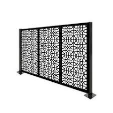 Decorative Fence Panels Border Fencing Fencing You Ll Love In 2020 Wayfair