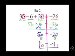 3 4 1 notes solving equations with