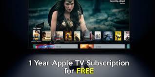 Apple Tv Subscription Free 1 Year | Apple tv, Tv app, Streaming tv