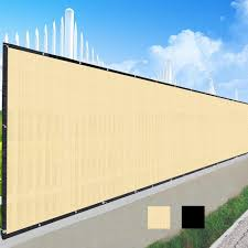 Yescom Fence Screen 90 Privacy Windscreen Fencing Mesh 4 X25 Yescomusa