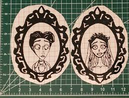Tim Burton S Corpse Bride Vinyl Decal Set