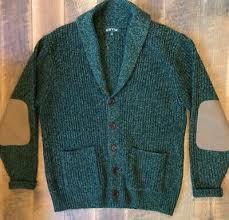 lambs wool cardigan shawl collar