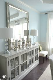 vertical vs horizontal buffet mirror