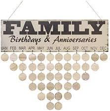 vorcool family birthday board plaque